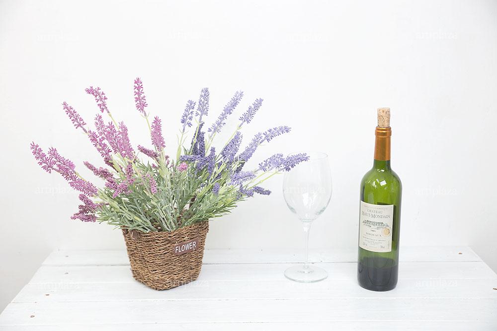라벤더 아스틸베 믹스 꽃 부쉬 - 아티플라자, 5,900원, 조화, 리스/가랜드