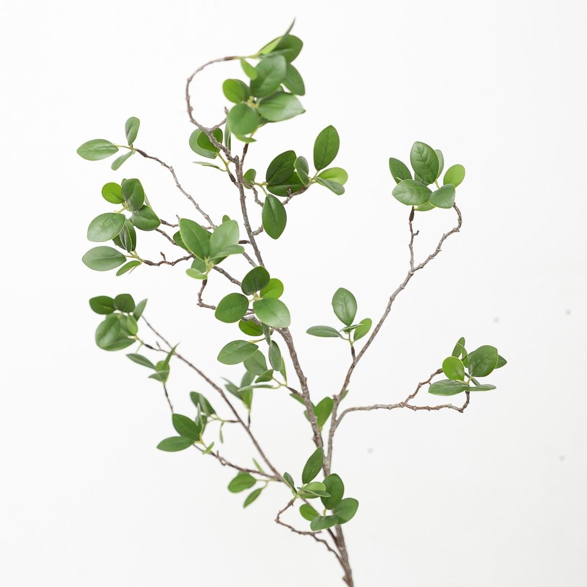 모과 나무 새순 잎 가지 110cm 조화 - 아티플라자, 11,000원, 조화, 부쉬