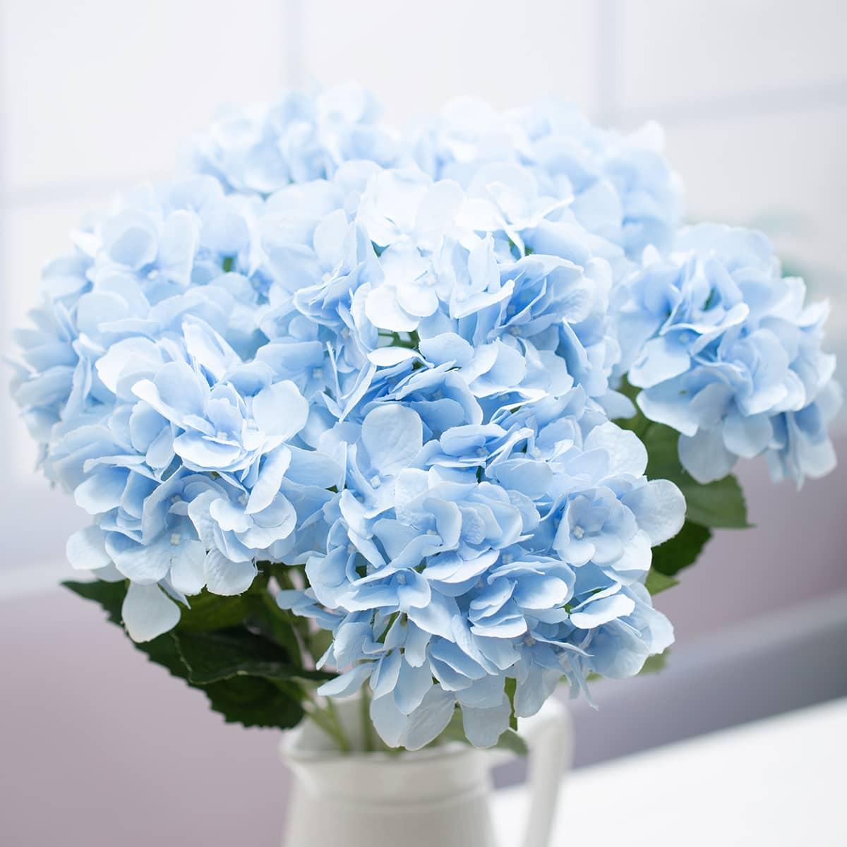 프라임 수국 부쉬 고급 수국꽃 인테리어조화 - 아티플라자, 23,000원, 조화, 리스/가랜드
