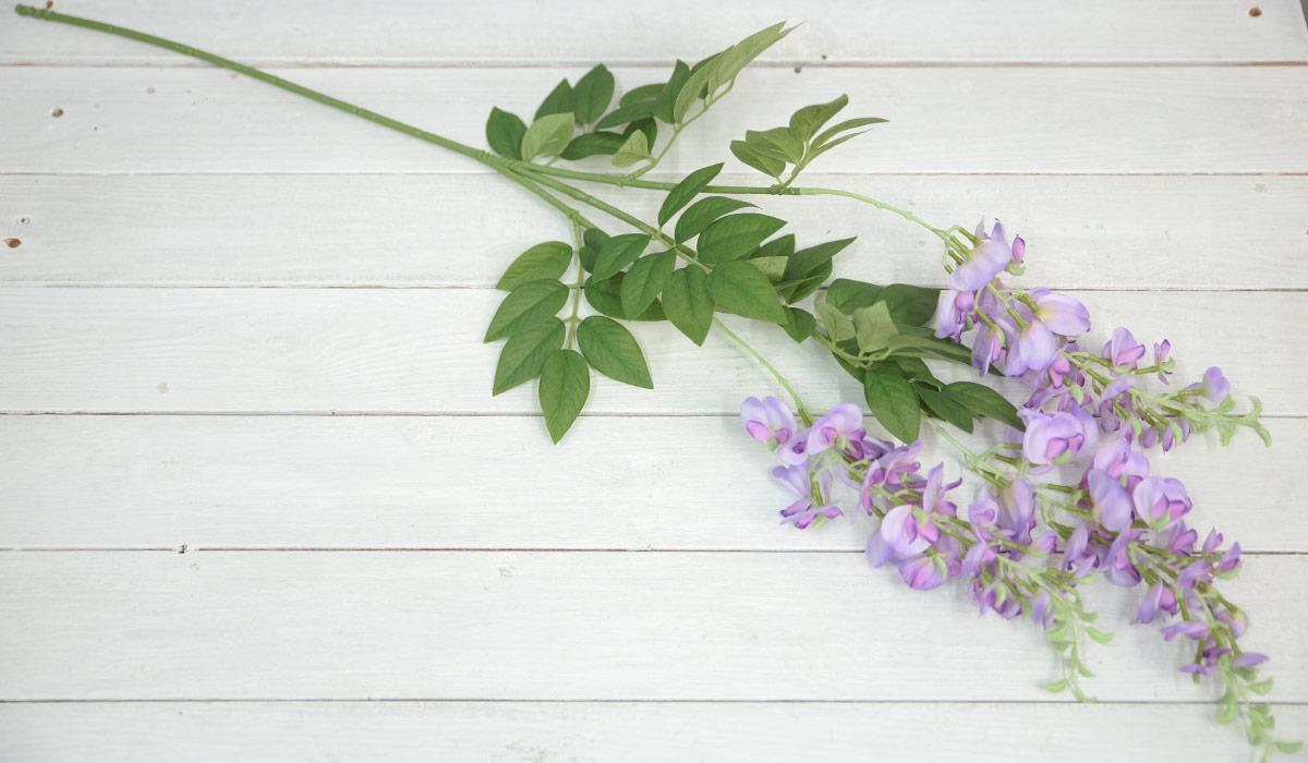 등꽃가지 라일락 바닥에 놓은 사진