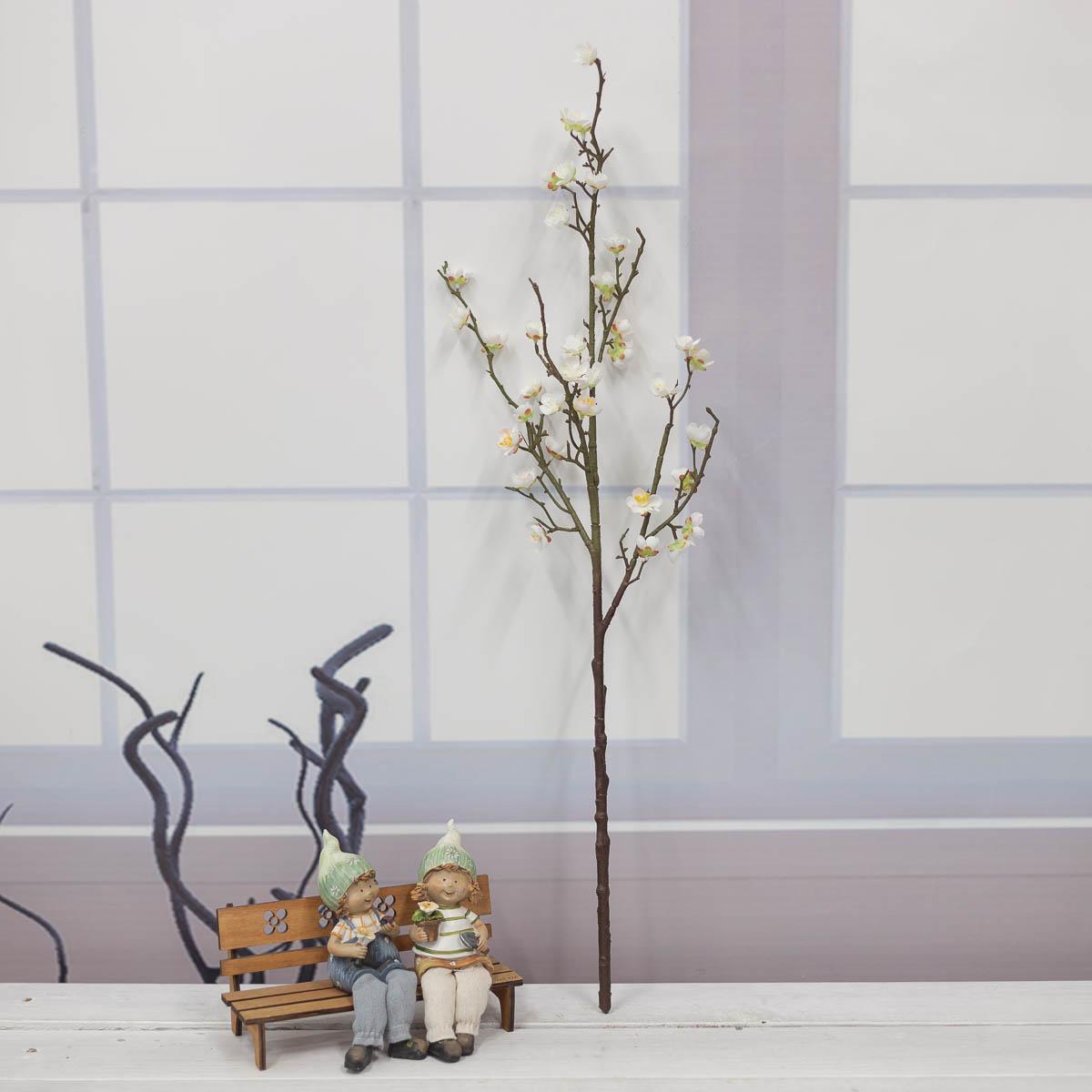 살구꽃 나무 가지 Cream(크림) 세운이미지