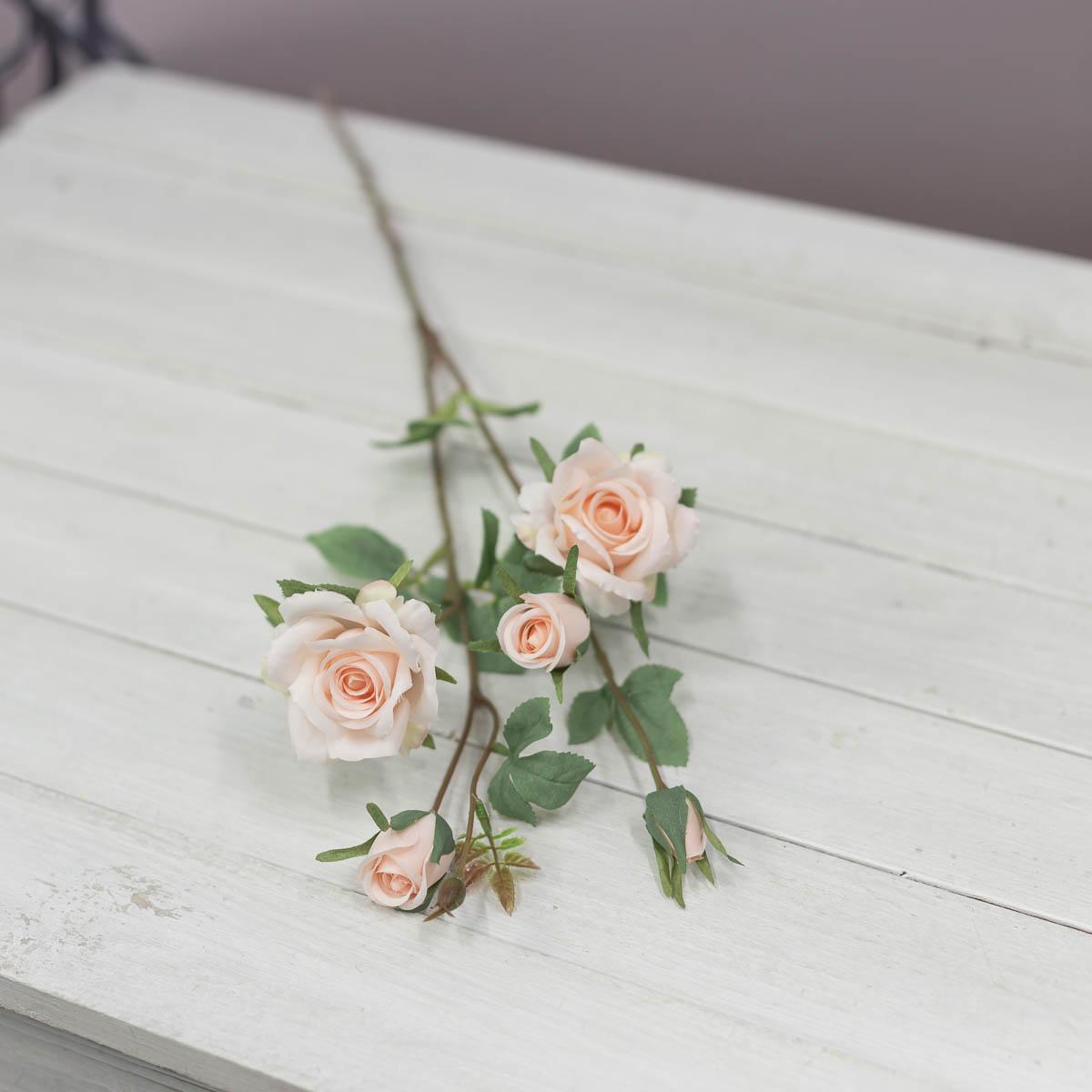 퀸 엘리자베스 장미 꽃 가지 Lt.Pink(라이트핑크)
