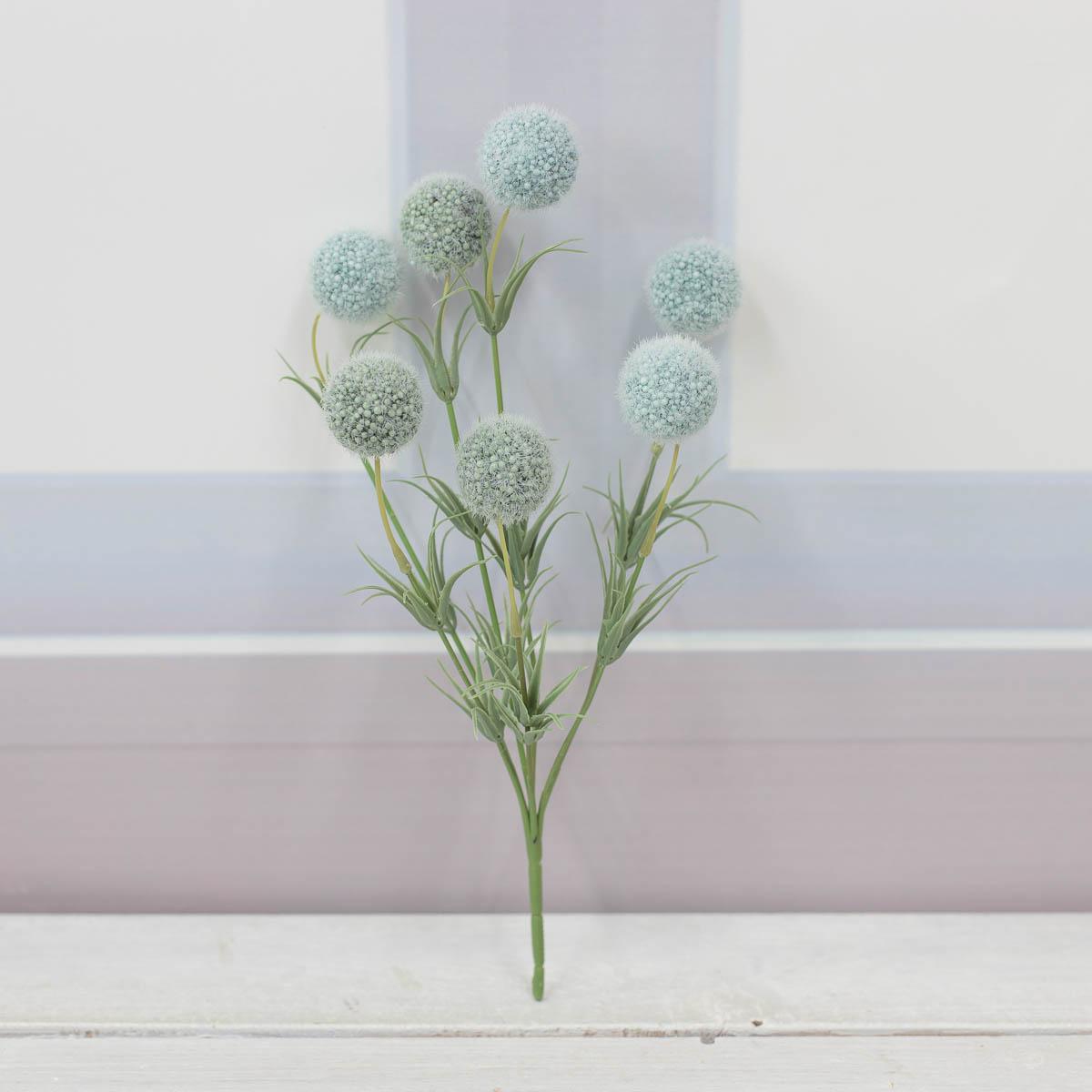 소프트 팜팜 알륨 미니 꽃 부쉬 블루/그린