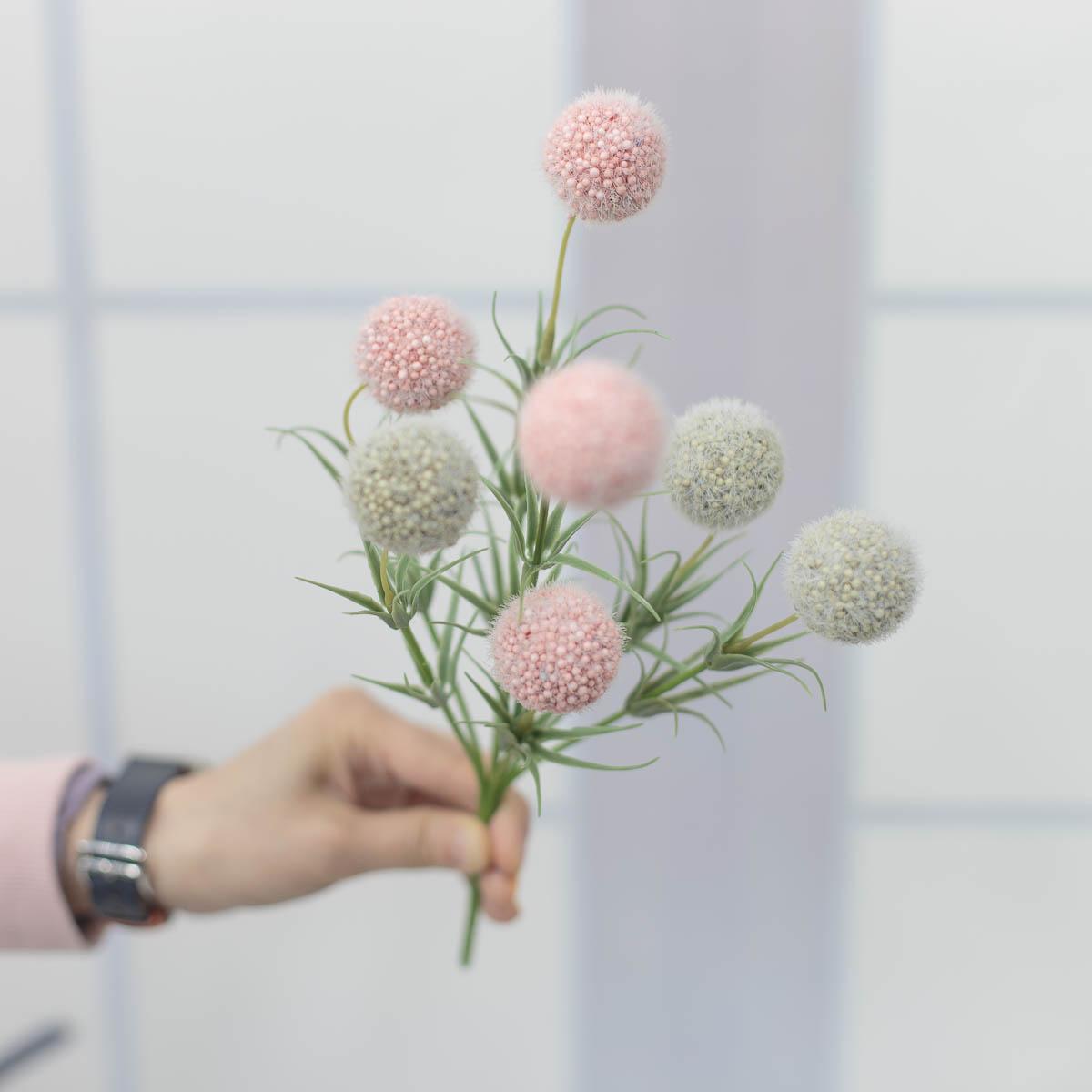소프트 팜팜 알륨 미니 꽃 부쉬 핸드헬드