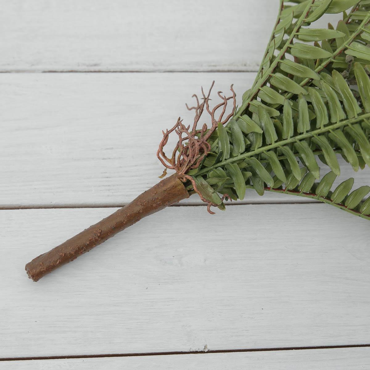 내추럴 보스톤고사리 조화잎 부쉬 조화식물 뿌리부분 디테일