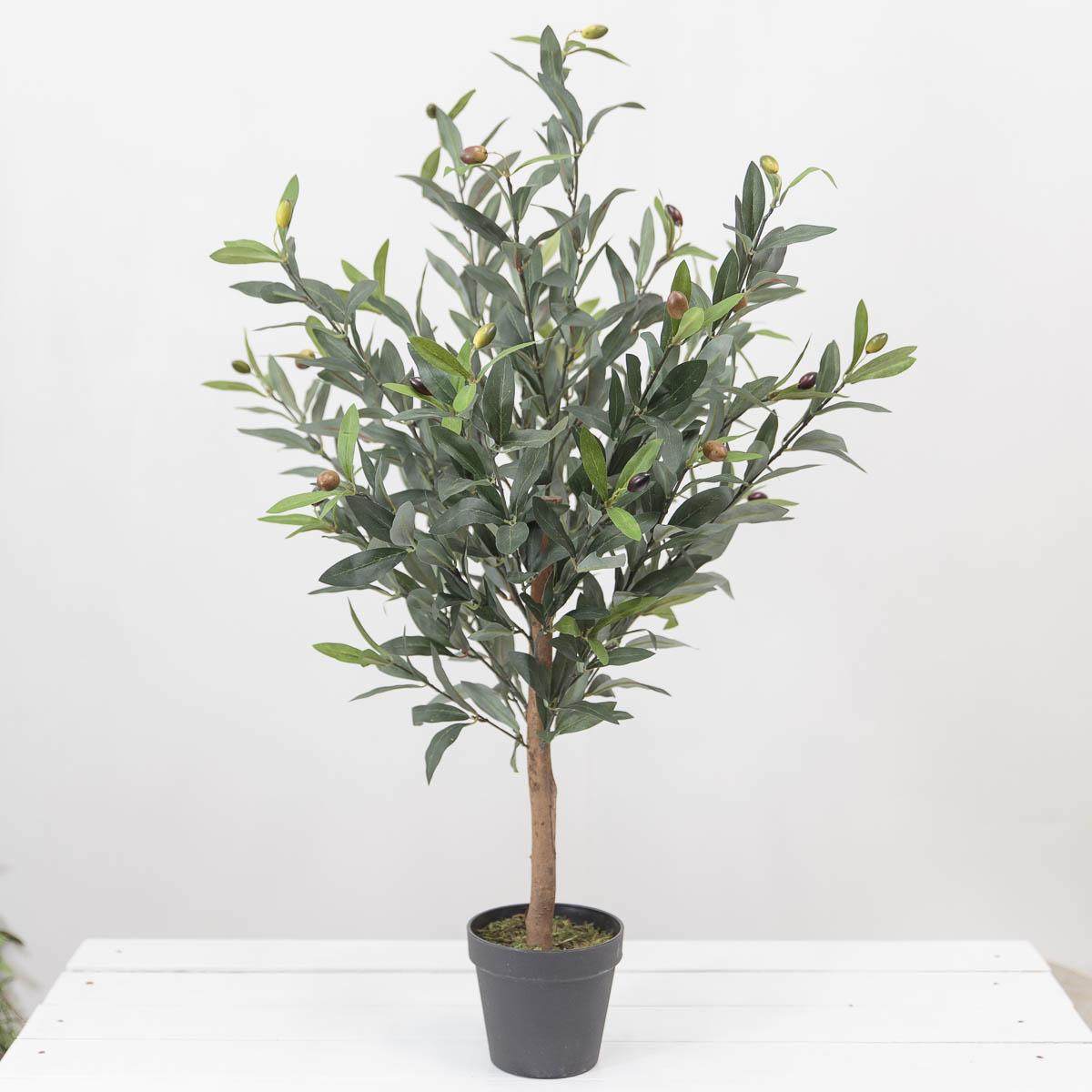 올리브조화 인테리어인조나무 85cm 식물조화 인조화분 임시화분 기본
