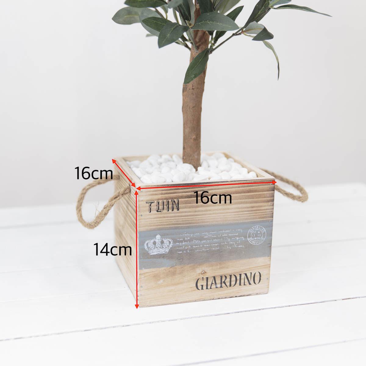 올리브조화 인테리어인조나무 85cm 식물조화 인조화분 사각화분 사이즈