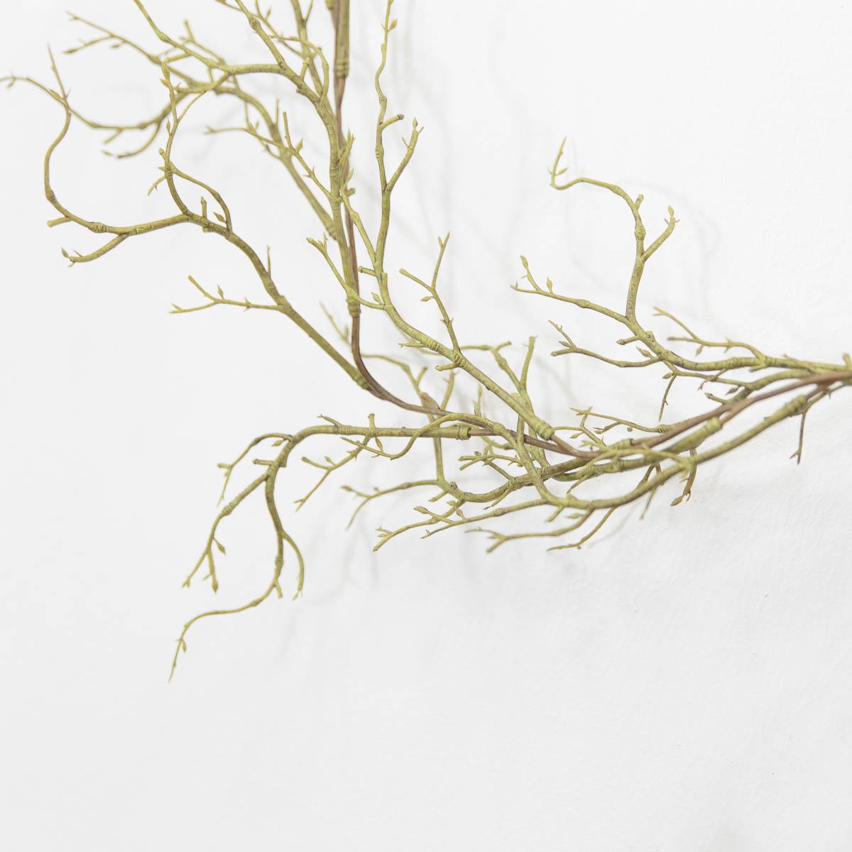 기근 트위그가지 행잉플랜트 조화넝쿨 갈란드 180cm 기근디테일