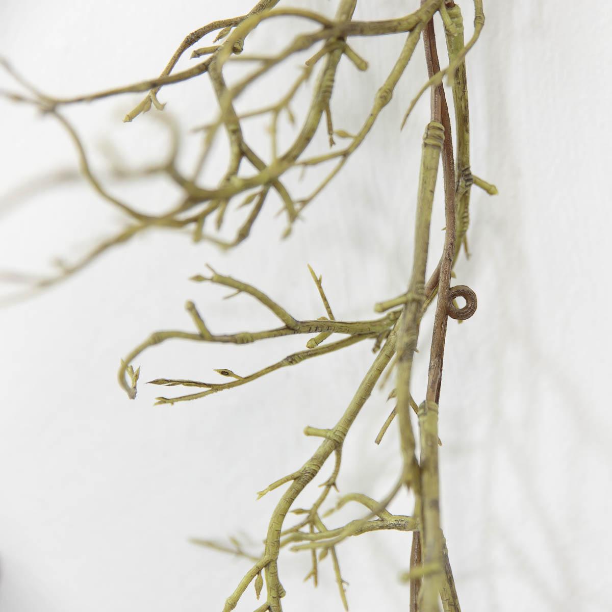 기근 트위그가지 행잉플랜트 조화넝쿨 갈란드 180cm 고리디테일