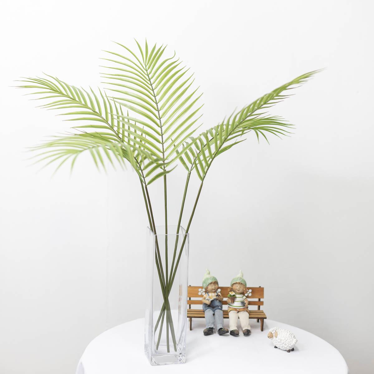 아레카야자조화 잎사귀 나무가지 79cm