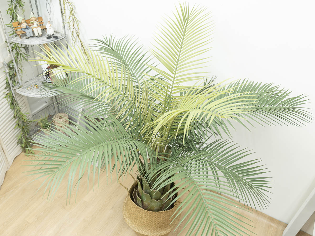 인조나무 피닉스야자 150cm 블랙포트